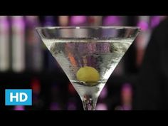 Como fazer Dry Martini - YouTube