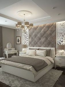 Modern Luxury Bedroom Inspirations - Home Design - lmolnar - Best Design and Decoration You Need Classic Bedroom Decor, Modern Luxury Bedroom, Romantic Master Bedroom, Simple Bedroom Design, Luxury Bedroom Design, Farmhouse Bedroom Decor, Master Bedroom Design, Luxurious Bedrooms, Beautiful Bedrooms