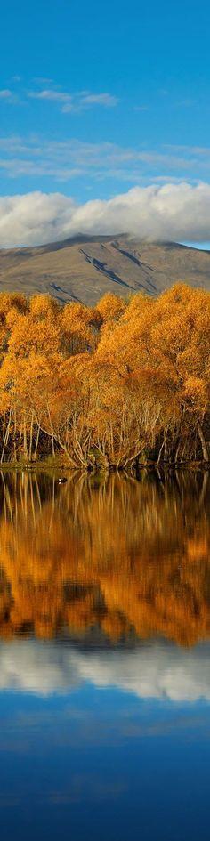 Autumn in Arrowtown, Central Otago, South Island, New Zealand