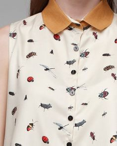 love the print, we're digging insects for our spring line