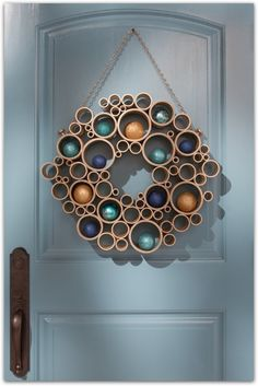Christmas Decoration Ideas, Image Source pinterest.com/perfectpalette/
