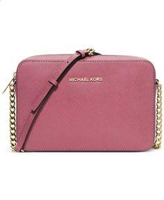 MICHAEL Michael Kors Jet Set Travel Large Crossbody - Crossbody Messenger Bags - Handbags Accessories - Macys