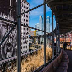 I really enjoyed walking the High Line, a revitalised piece of New York City's past. #ny #nyc #newyork #inspiringtravellers