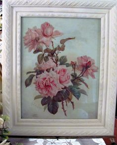 A famous French and American flower painter, Paul DeLongpre was the most significant watercolor specialist to arrive in Los Angeles in the late century and became the city's first major still-life . Shabby Chic Frames, Famous French, Rose Art, Rose Cottage, Still Life, 19th Century, Watercolor, Art Prints, American