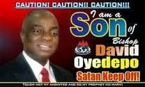 BISHOP DAVID OYEDEPO - PROPHETIC DECLARATIONS FOR THIS WEEK.