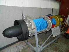 Junkers Jumo 004B Turbojet Cutaway