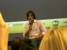 """Jared on filming the """"Sam Winchester wears make-up. Sam Winchester cries his way through sex."""" scene in Mystery Spot"""