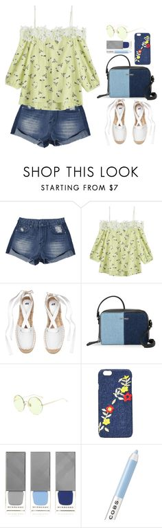 """""""Untitled #724"""" by justkejti ❤ liked on Polyvore featuring Nine West, Nasty Gal, Burberry, Marc Jacobs, casual, casualoutfit, denimshorts and zaful"""