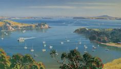 Looking Down on Matiatia, Waiheke