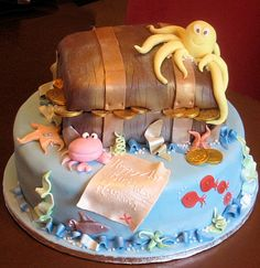 treasure chest cake | We started Perfect Party Cakes to make special occasion cakes that ...
