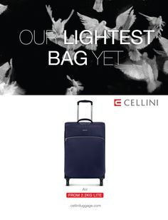 6e53edf6a898 Our lightest bag yet  Cellini Air Buy Luggage