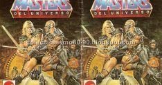Y en esta entrada comparto escaneado el tercer y último minicatálogo promocional de los Masters del Universo , editado por Mattel España  ...