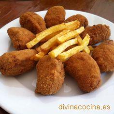 Croquetas de coliflor - DIVINA COCINA