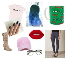 """Meme Lord"" by lucy-the-llama on Polyvore featuring prAna, Journee Collection, ZeroUV and Lime Crime"