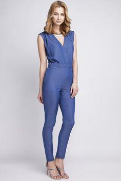 9986bcfedf4e Lanti Blue Pants Suit polyester 60% Spandex 5% viscose 35% Size S (