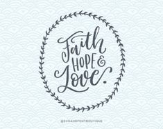 Print or Cricut /Sillouette. Hand Lettering Quotes, Life Is Tough, Hope Quotes, Cutting Tables, Faith Hope Love, Poster Making, Vector File, Scrapbook, Motivation