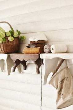 Knick of Time | Farmhouse Friday – Farmhouse Cabinets, Cupboards and Shelves | http://knickoftime.net