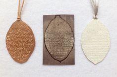 Ariane Hartmann Pendant: Im wort - ira glass Silver 935, copper