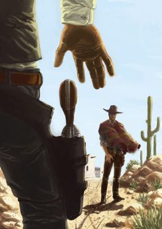 Gunslingers by MrHarp.deviantart.com on @DeviantArt