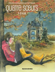Quatre Sœurs 1, Enid  graphic novel, editions rue de sèvres