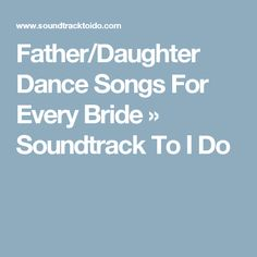 Father Daughter Dance Classic Rock And Father Daughter On Pinterest