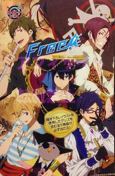 Free! ES ~~ Pirate cosplay for our Favorite Five