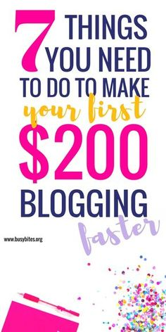 These tips on how to make money blogging were a breath of fresh air! Definitely starting to do everything she said, this really made me feel it's possible to make money online and work from home full time! Thanks!