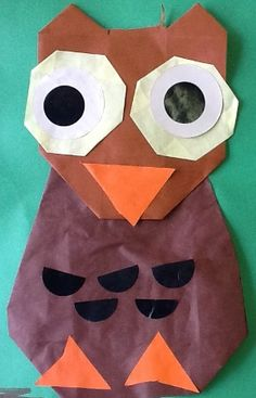 Fall Crafts For Kids, Kids Crafts, Diy Home Decor, Owl, Origami, Owls, Autumn, Crafting, Autumn Crafts Kids