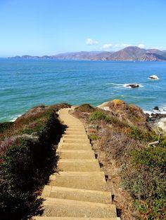 Deux ans de vacances: San Francisco côté océan