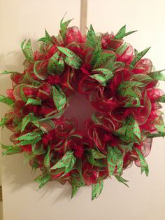 1000+ images about Diy deco mesh craft ideas on Pinterest  Deco mesh, Christmas deco and Deco ...