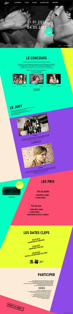 Unique Web Design, Lowdi #WebDesign #Design (http://www.pinterest.com/aldenchong/)