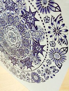 Secret Garden: An Inky Treasure Hunt and Coloring Book: Johanna Basford:  By Yang Zhao on Jul 18, 2015