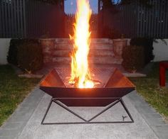 In this Instructable I will try to show how I made a cool back yard fire pit from some chequerplate and rebar.The design is very simple and shouldn't be too challenging for anyone with basic welding and cutting skills.You will notice by the pictures that I'm an absolute amateur at this, and I'm hoping that this fact will inspire other amateurs to have a go too.I'm only going to use metric measurements in this. Sorry if you still adhere to archaic systems, but they make my brain hurt.To make…