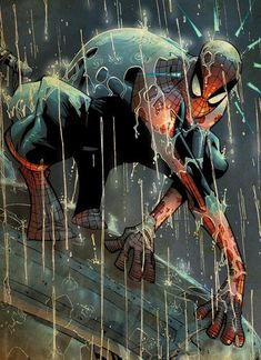 Old Comics, Marvel Dc Comics, Marvel Heroes, Marvel Comic Character, Comic Book Characters, Comic Books Art, Spiderman Art, Amazing Spiderman, Comic Villains