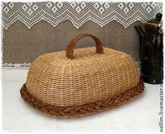 """Хлебница плетеная """" Сельское утро"""" - хлебница,плетение,деревенский стиль"""