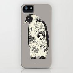 THE PENGUIN iPhone Case by Chalermphol Harnchakkham - $35.00