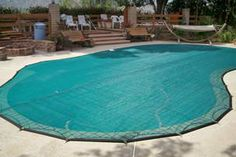 All-Safe Leaf Pool Covers - An ideal option to keep leaves and debris out of the pool water while still maintaining a secure barrier for child safety