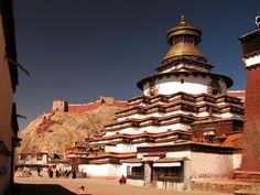 Kumbum Stupa, Gyantse, Tibet