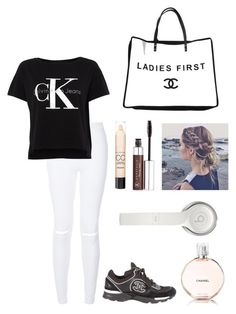 """""""Travel-Day 6"""" by itsamandarose ❤ liked on Polyvore featuring Calvin Klein, Chanel, Anastasia Beverly Hills, Max Factor and Beats by Dr. Dre"""