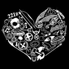 Fandoms heart