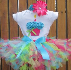 First Birthday Party Ideas - Buttercream Bakehouse 1st Birthday Onesie, First Birthday Parties, 5th Birthday, First Birthdays, Birthday Outfits, Sweet Tarts, Cupcake, Onesies, 3d