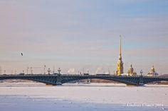Peter & Paul Fortress in Winter Saint by NostalgiaPhotographs, $30.00