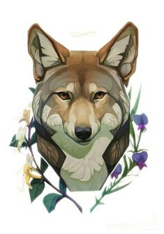86 Best Coyote Images In 2020 Animal Sketches, Animal Drawings, Art Drawings, Furry Art, Art Inspo, Cartoon Wolf, Art Et Illustration, Dog Tattoos, Pics Art