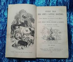 Excited to share the latest addition to my #etsy shop: Every Man His Own Cattle Doctor Book (Francis Clater - 1878) 1st Edition #antique #veterinary #farming #cattle #book #booksandzines http://etsy.me/2mARGLI