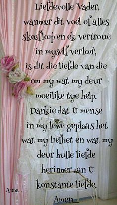 Prayer Verses, Scripture Verses, Bible Verses Quotes, God Is Good Quotes, Uplifting Christian Quotes, Messages For Friends, Afrikaanse Quotes, Inspirational Qoutes, Prayer Board