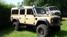 Defender 110 2000  Cummins Diesel 4BT  Bolt on Portals  36/12,5R16,5  Hummer wheels