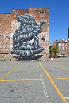 unurth | street art  Richmond, Virginia; The Richmond Mural Project