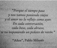 Años * Pablo Milanés