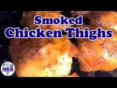 I do a lot of chicken and chicken thighs are one of our favorite pieces, and The RUB Makes These Chicken Thighs The Best! On the Pit Boss Pro Series I . The Rub, Smoked Chicken, Smoker Recipes, Chicken Thighs, Other Recipes, The Best, Smoking, Grilling, Bbq