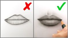 lips draw step mouth realistic easy tutorial drawing ts beginners don drawings mouths steps sketches pencil learn dos donts bizimtube